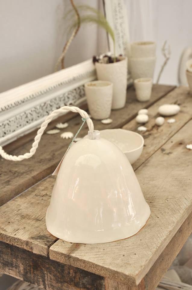 Myriam Ait Amar Ceramics Photo : Marie Roura   Luminaire