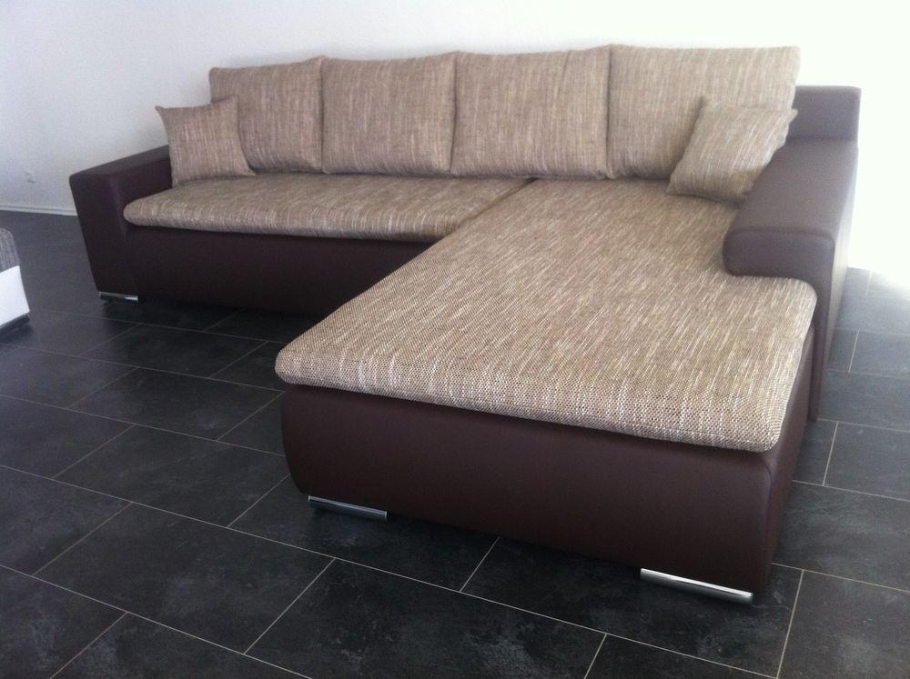 Sofa OVP COuch Wohnlandschaft BETTSOFA SCHLAFCOUCH AB LAGER BR NEU - wohnzimmer couch günstig