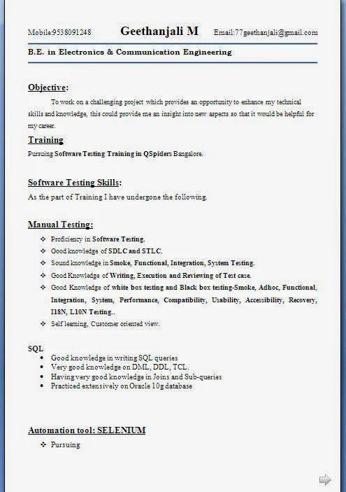 Compilare Curriculum Vitae Sample Template Example Ofexcellent