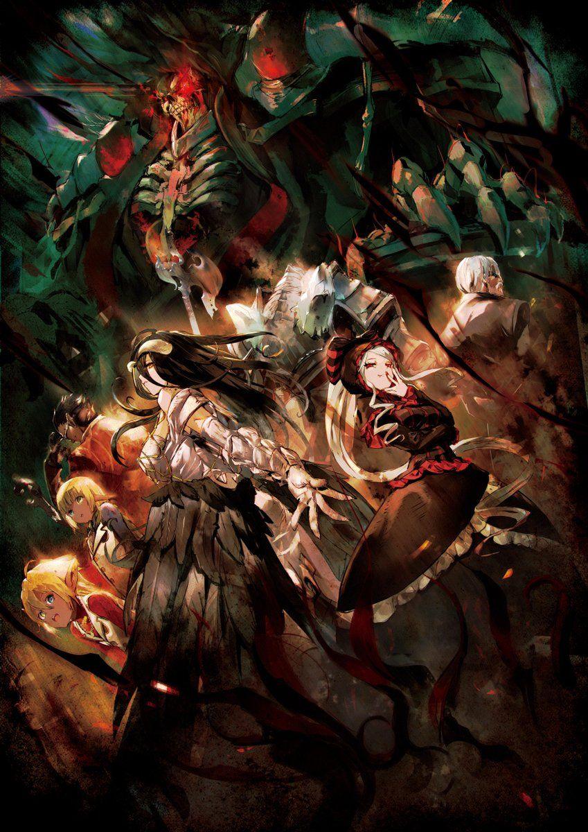 Overlord Recap Film Teaser Visual By Ln Illustrator So Bin オバロ オーバーロード アニメ