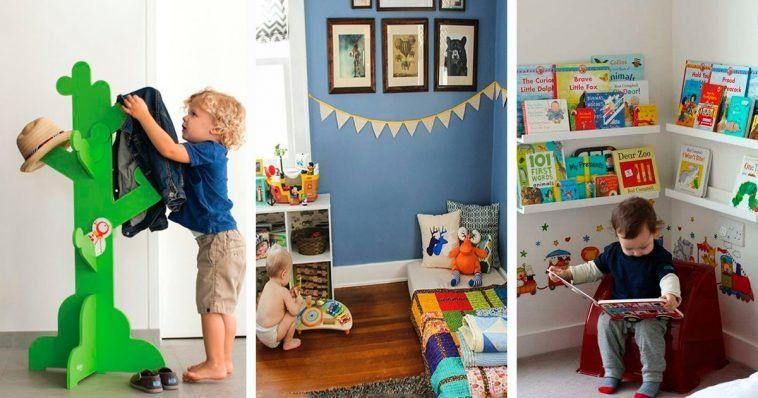 Crea una habitación Montessori para tu bebé con estos sencillos trucos y consejos