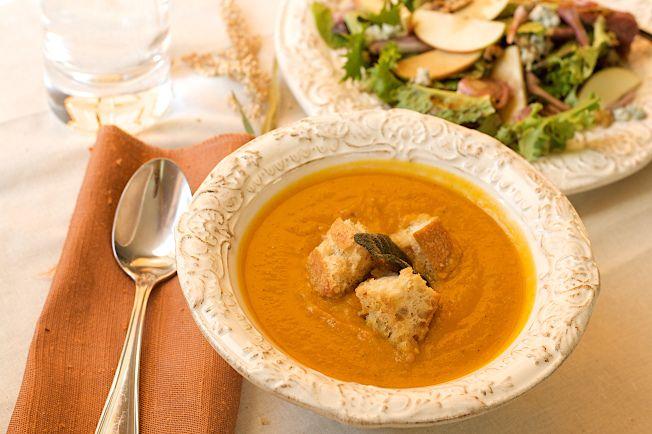 Pumpkin Butternut Soup