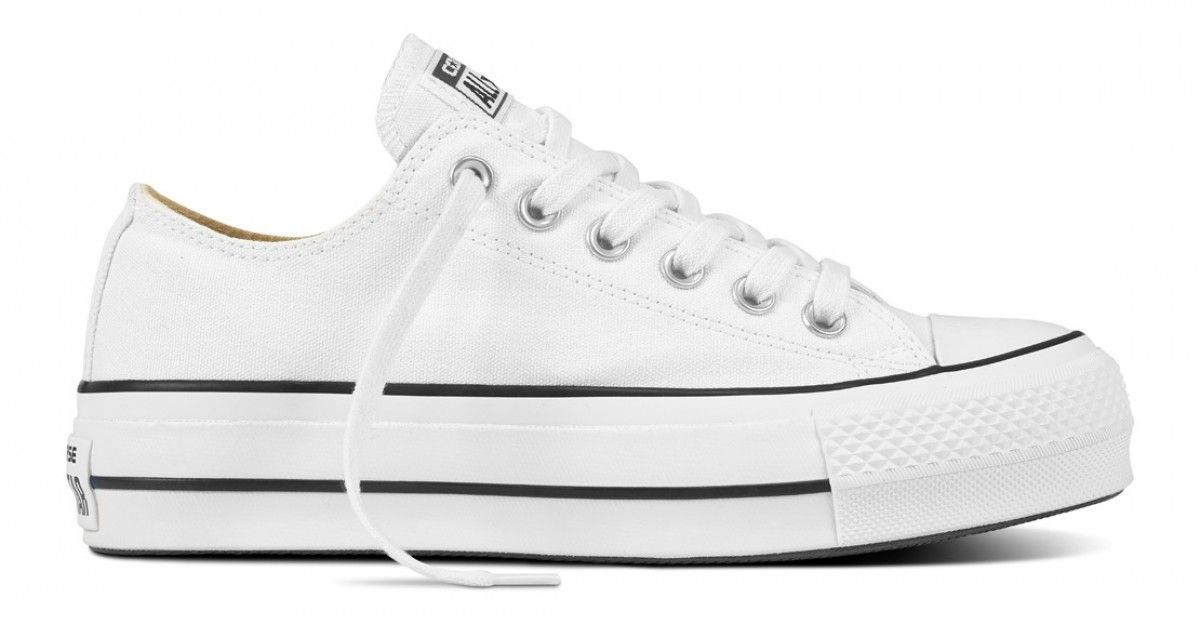 182782ca7f1f Converse Chuck Taylor All Star Lift Women s Low Top White Black White