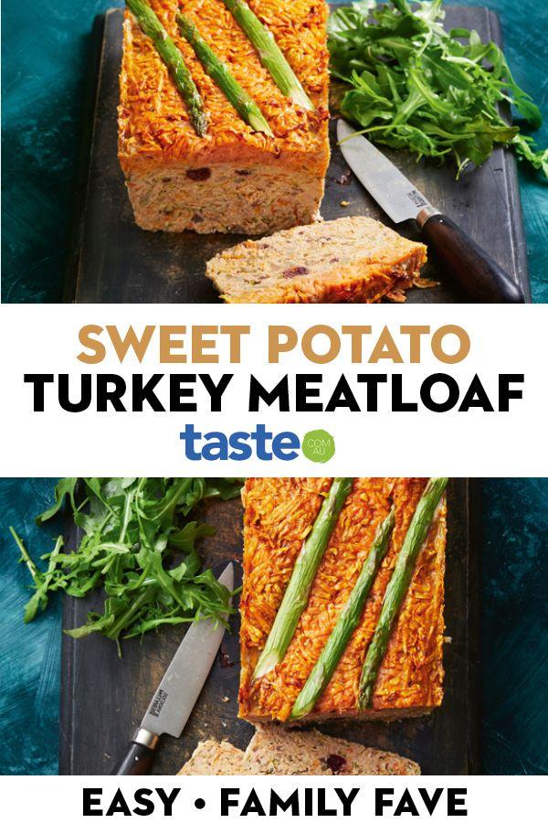 Sweet potato-topped turkey meatloaf | Recipe in 2020 ...