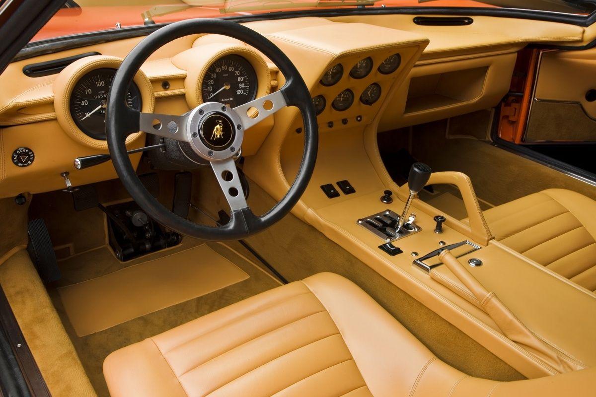 Lamborghini Miura Interior Cars Pinterest