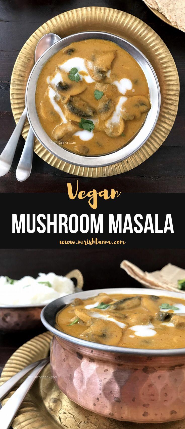 Vegan Mushroom Masala