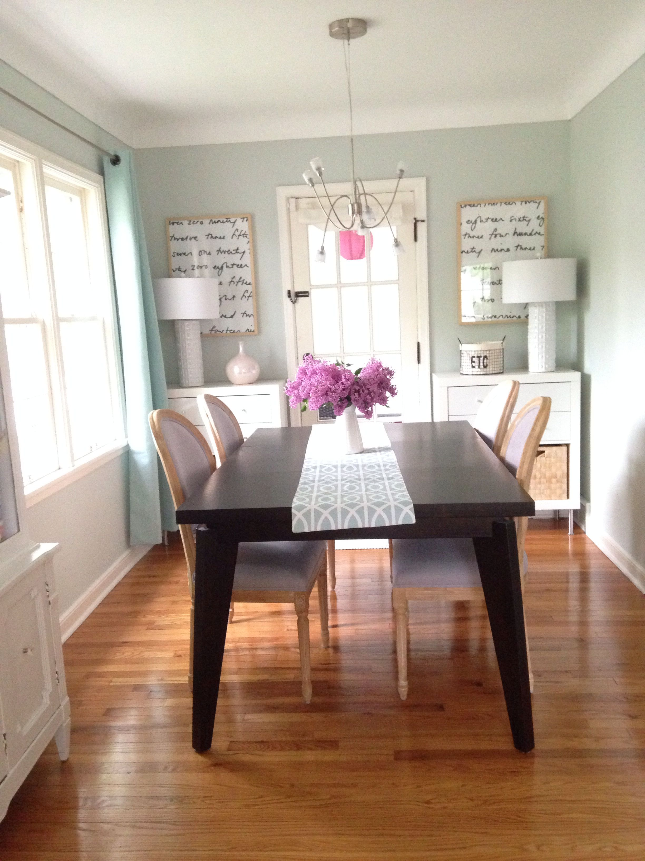 dining room paint color ideas sherwin williams | Dining Room: Paint color - Sea Salt by Sherwin Williams ...