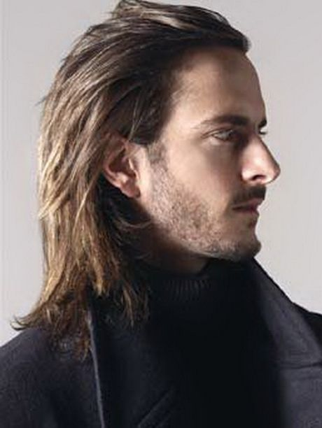 Exemple coiffure homme cheveux long