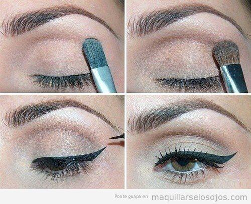 cmo pintarse los ojos en 4 pasos - Pintarse Los Ojos