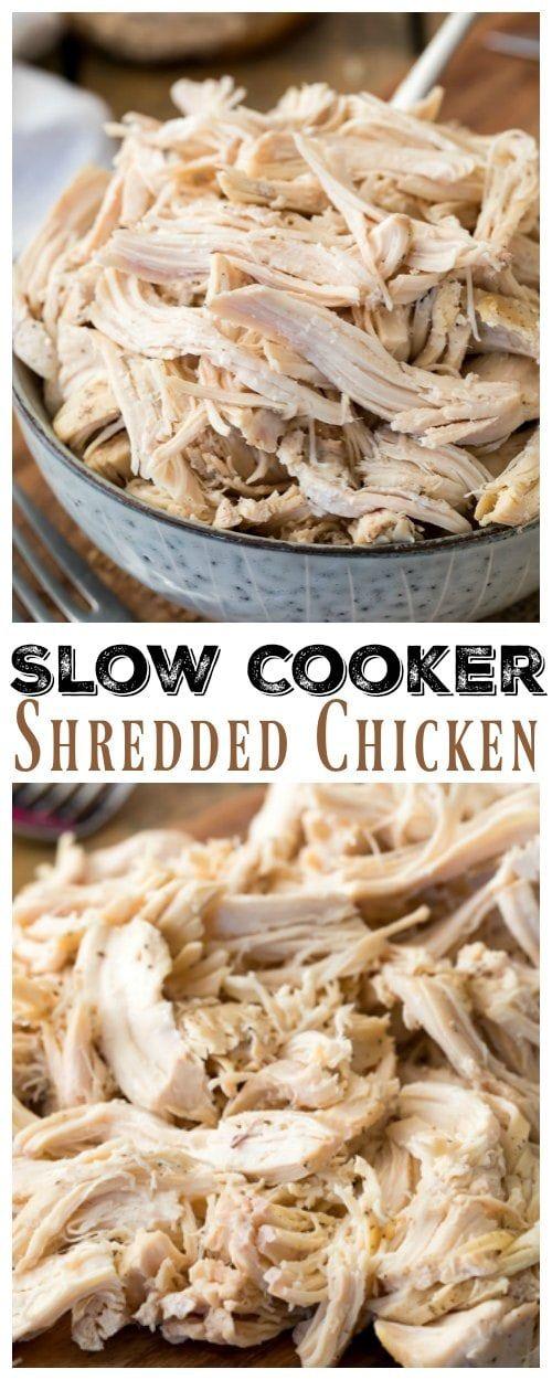 Kitchen Tips: Easy Slow Cooker Shredded Chicken