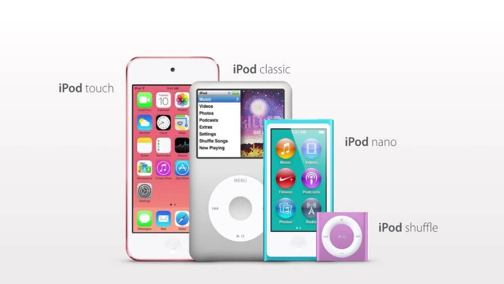 A Complete History Of Ipod From Ipod Classic To Ipod Touch Geek Column Ipod Classic Ipod Touch Ipod