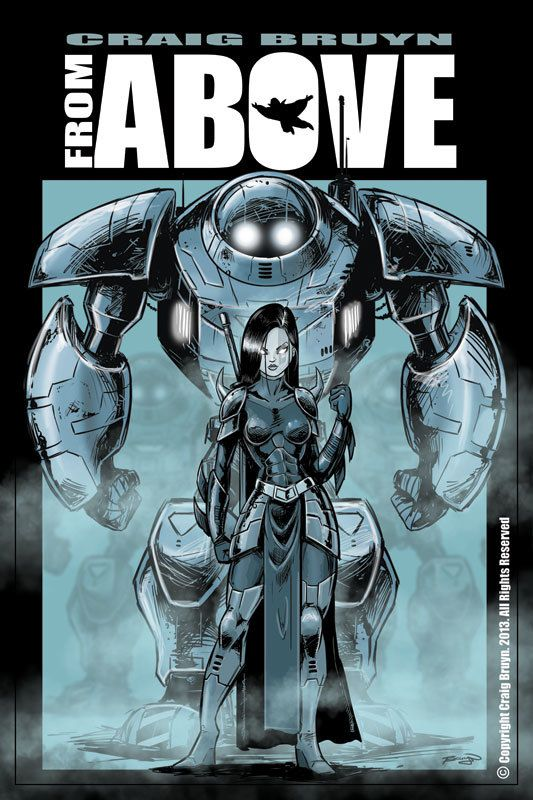From Above Comic Book by Craig Bruyn, via Behance