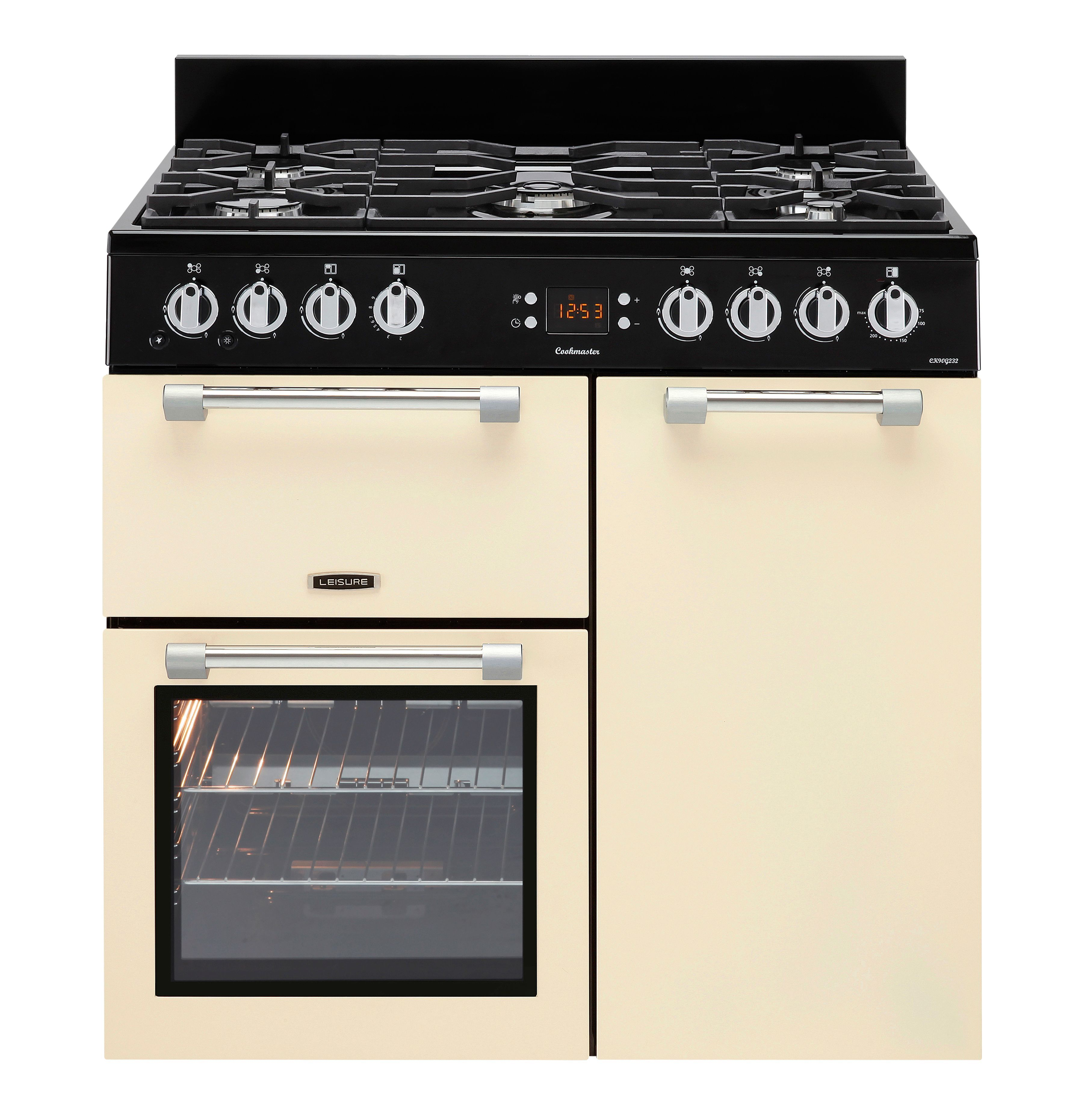 Leisure Gas Range Cooker with Gas Hob, CK90G232C