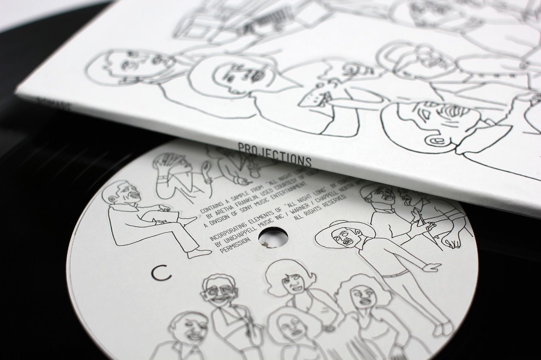 Romare's debut album 'Projections' released 23 February 2015 on Ninja Tune.