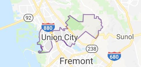 Map Of Union City California Union City City Union
