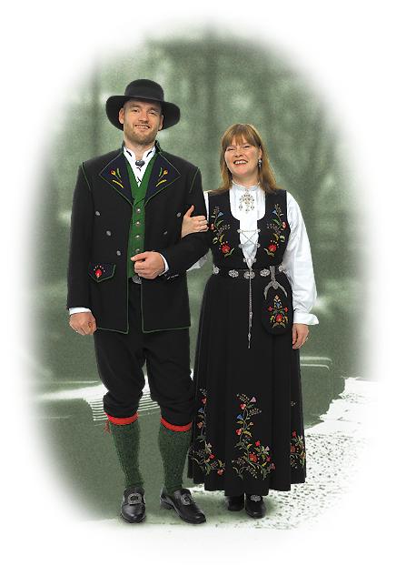 Bergensbunad Kvinne Norge Dap