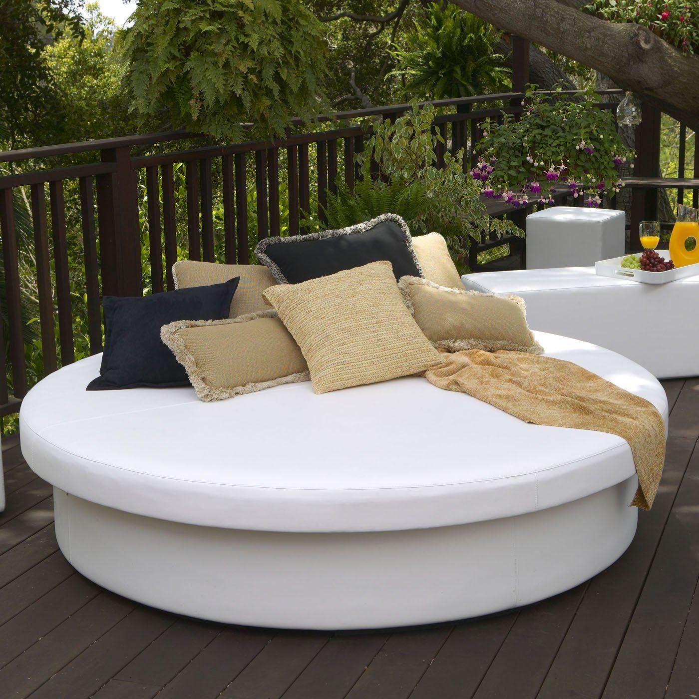 La-Fete Designs SUN PAD Outdoor Sun Round Resort Daybed - ATG ...