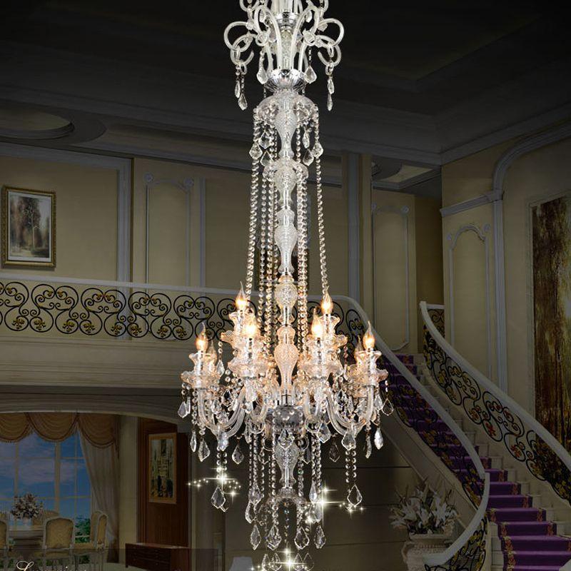 European crystal chandeliers luxury chandelie crystal modern european fashion k9 top crystal chandelier lamp crystal lighting