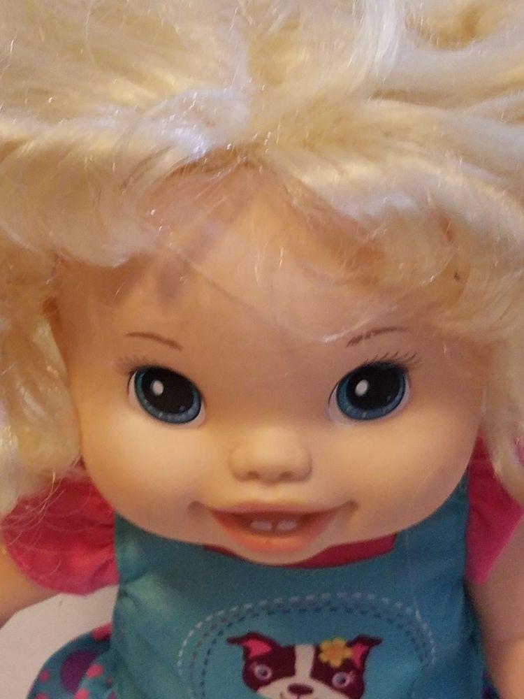 Baby Alive Baby Wanna Walk Talks Blonde Interactive Doll 2011 Works 14 Toy Hasbro Dolls Baby Alive Dolls Toys