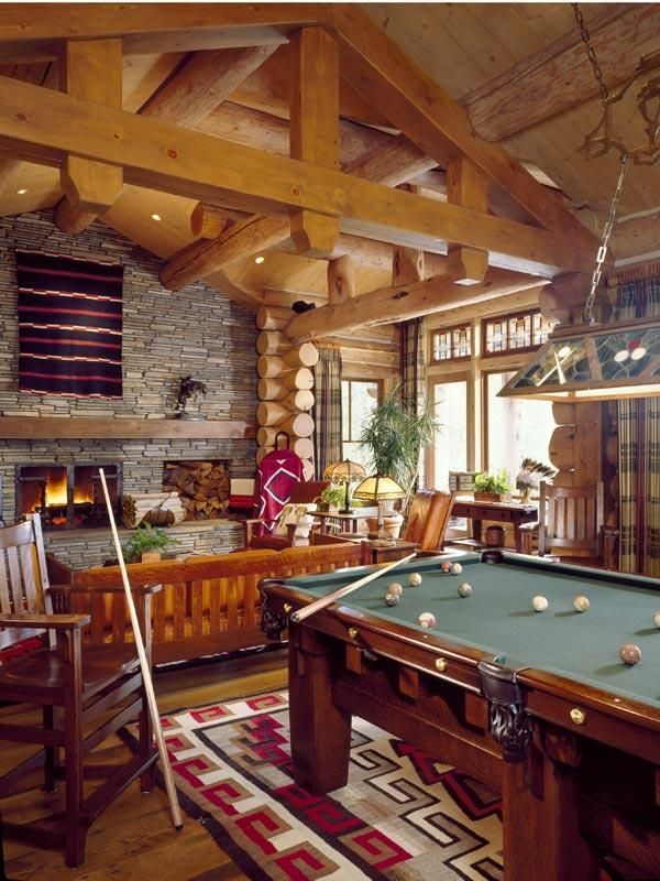 Rustic Game Room Game Room Man Cave Home Bar Best Man