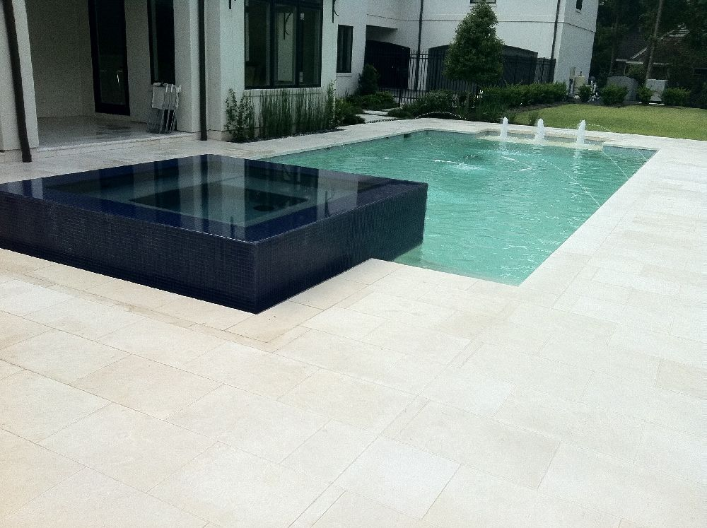 White Limestone Pool Pavers Google Search Summer House