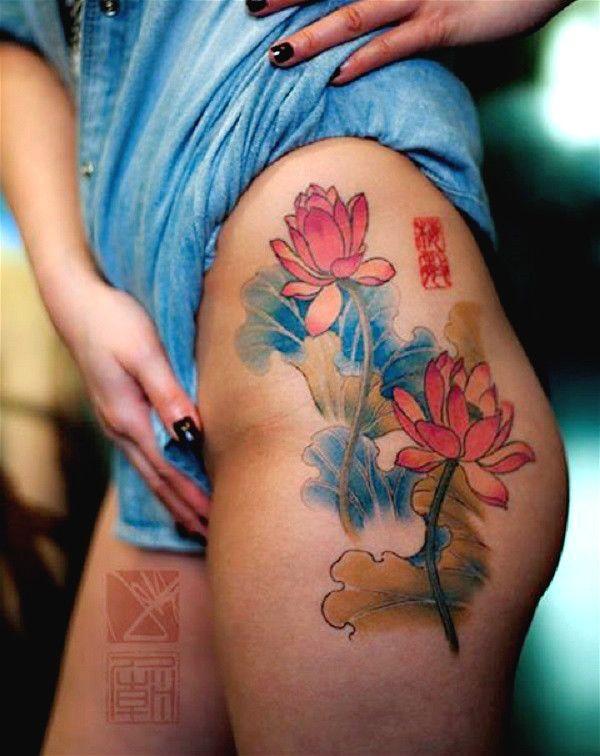 70 Lotus Tattoo Design Ideas Flor De Loto Tatuajes Y Las Manos