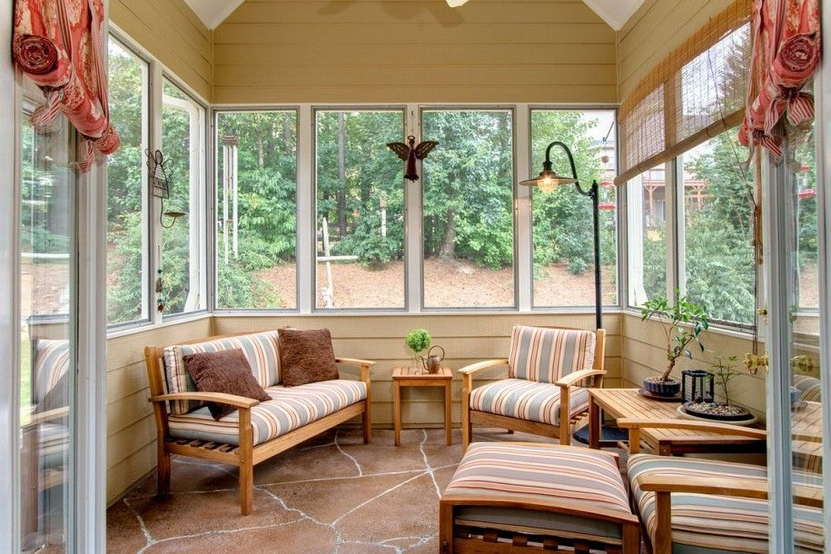 Selecting The Right Sunroom Furniture Nice Sunroom