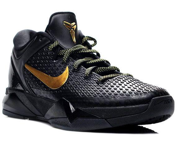 reputable site 99abd e1b2f Nike Zoom Kobe VII Elite - BlackGold (Release April 20th, 2012)