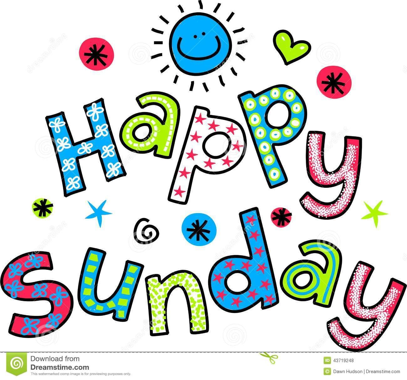 Happy Sunday Clipart - ClipartFest