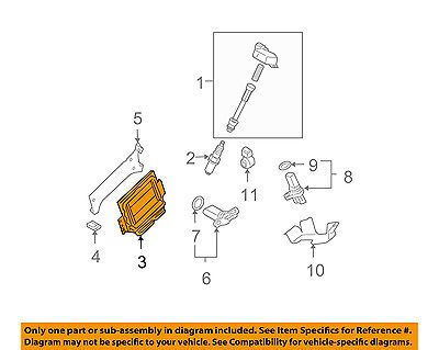 Nissan 07-08 Maxima-ecm Pcm Ecu Engine Control Module