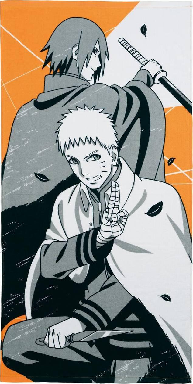 Naruto Nanadaime Hokage And Sasuke By Aikawaiichan On Deviantart