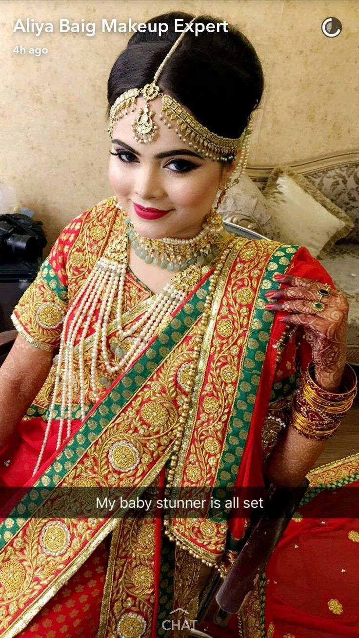 20 Nifty Muslim Bridal Hairstyles Indian bridal