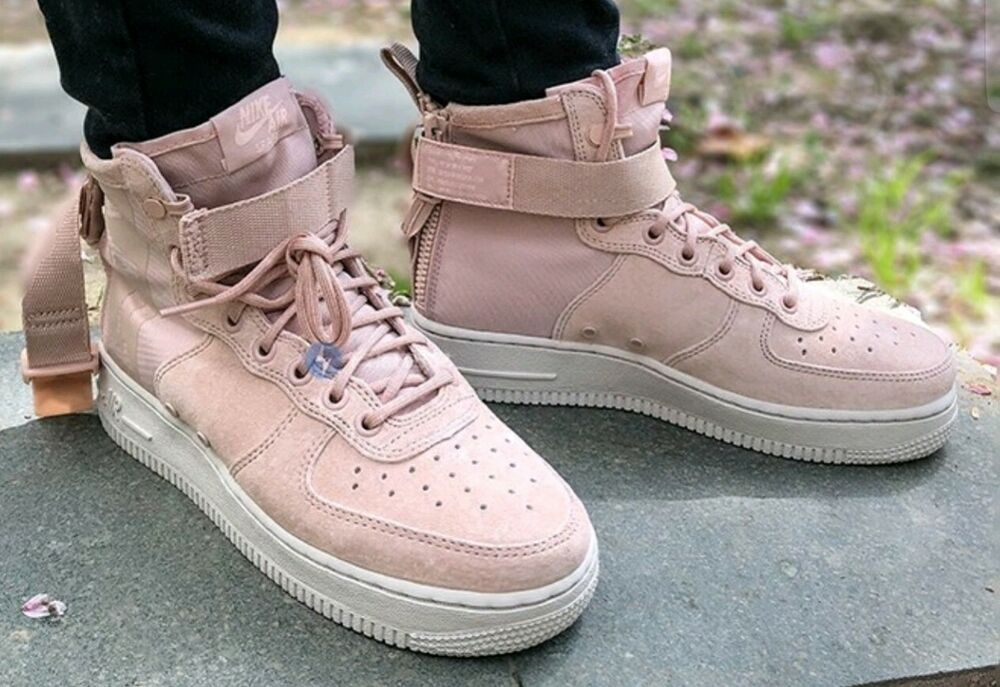 AIR FORCE 1 Trainers coral stardustwhite