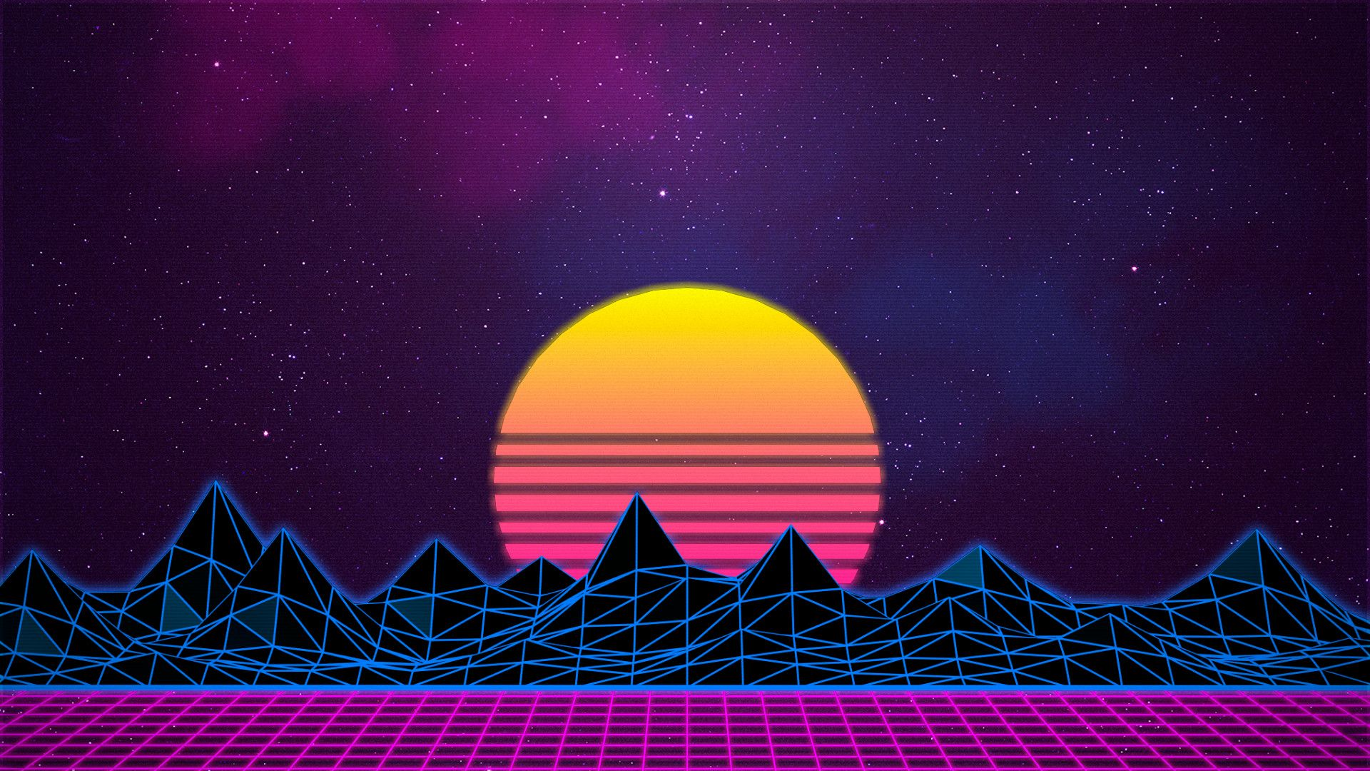 77 Neon 80s Wallpapers On Wallpaperplay Papel Tapiz Retro
