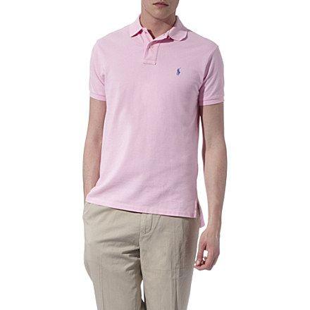 RALPH LAUREN - Custom–fit mesh polo shirt | selfridges.com