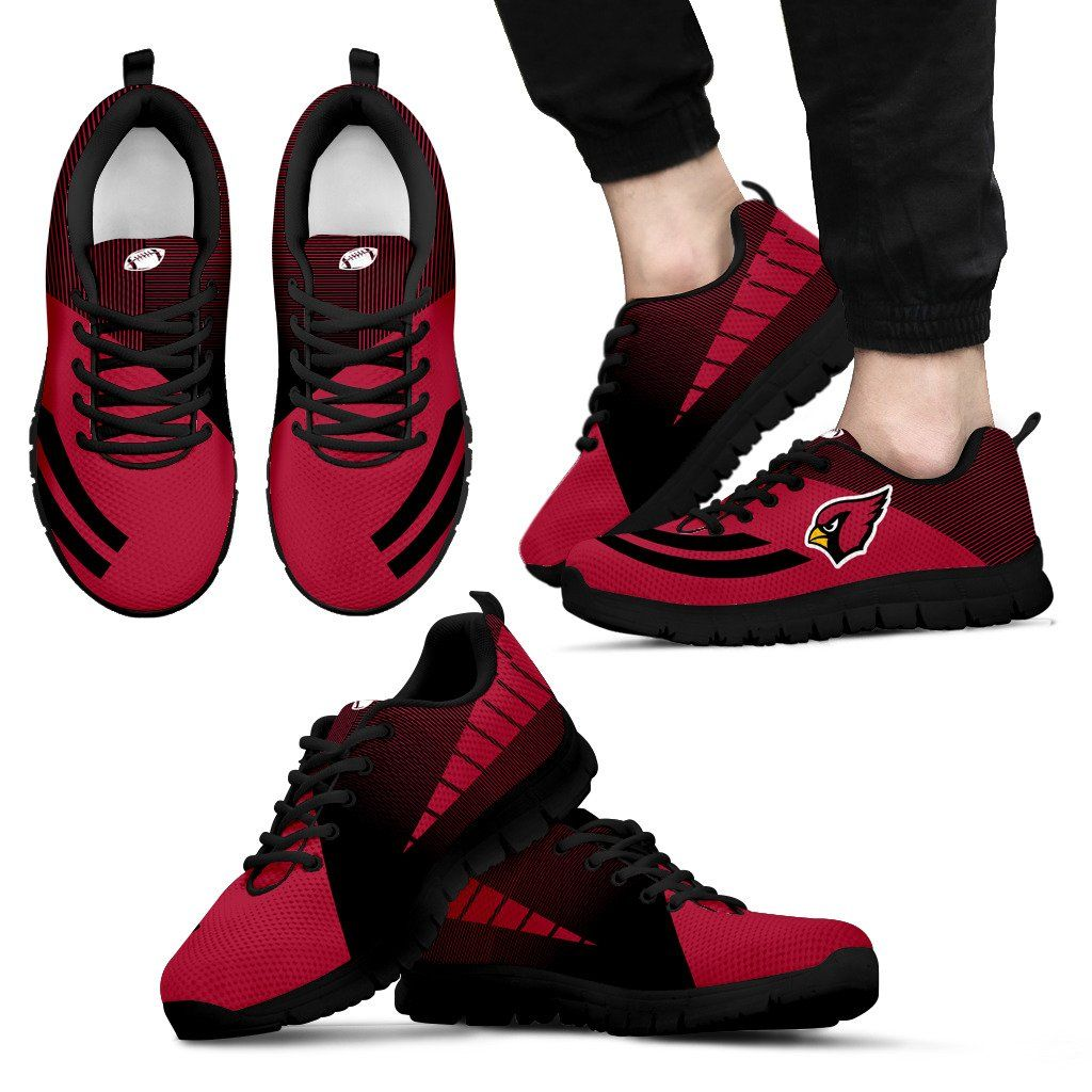 b40e23ed Women Men Hand Painted Sneakers Custom Arizona Cardinals Football ...