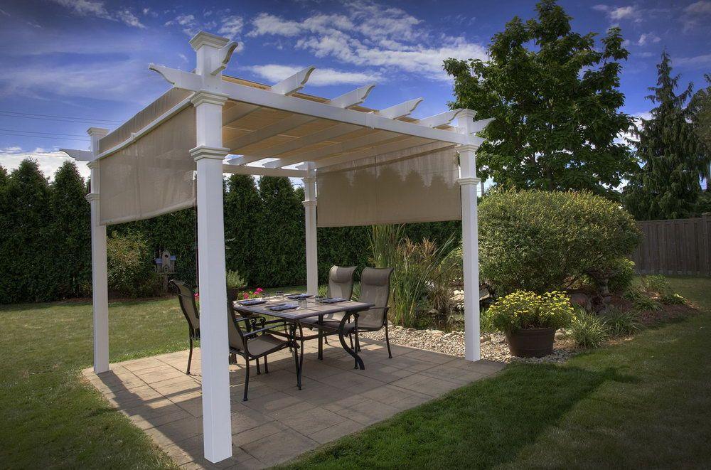 Elegant Design Ideas For Hampton Bay Arched Pergola