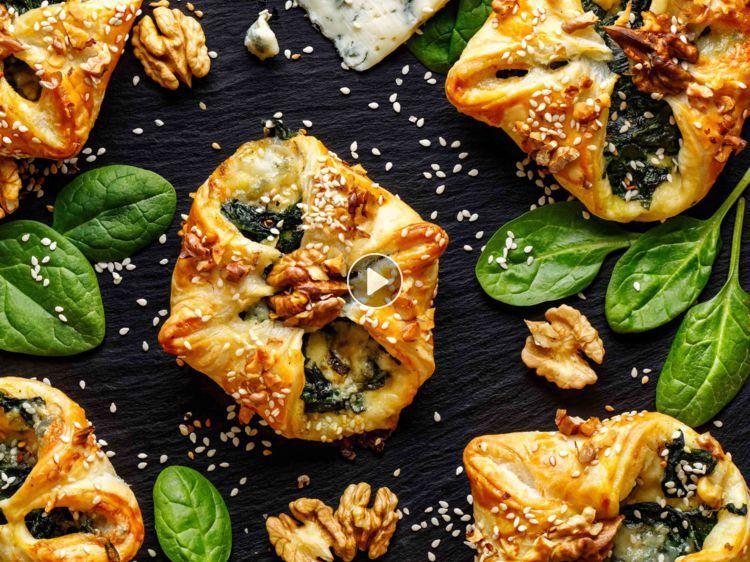 5 choses à faire avec une pâte feuilletée #patefeuilleteerapide