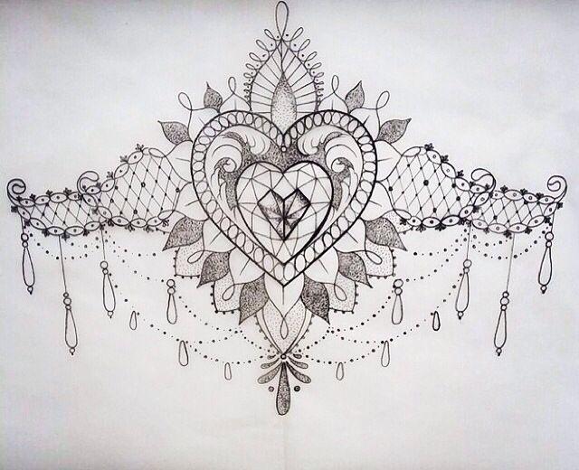 sternum tattoo tattoo sketches pinterest tattoo ideen t towierungen und vorlagen. Black Bedroom Furniture Sets. Home Design Ideas