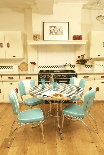 Classic American Retro Furniture Chairs Stools Tables Sets