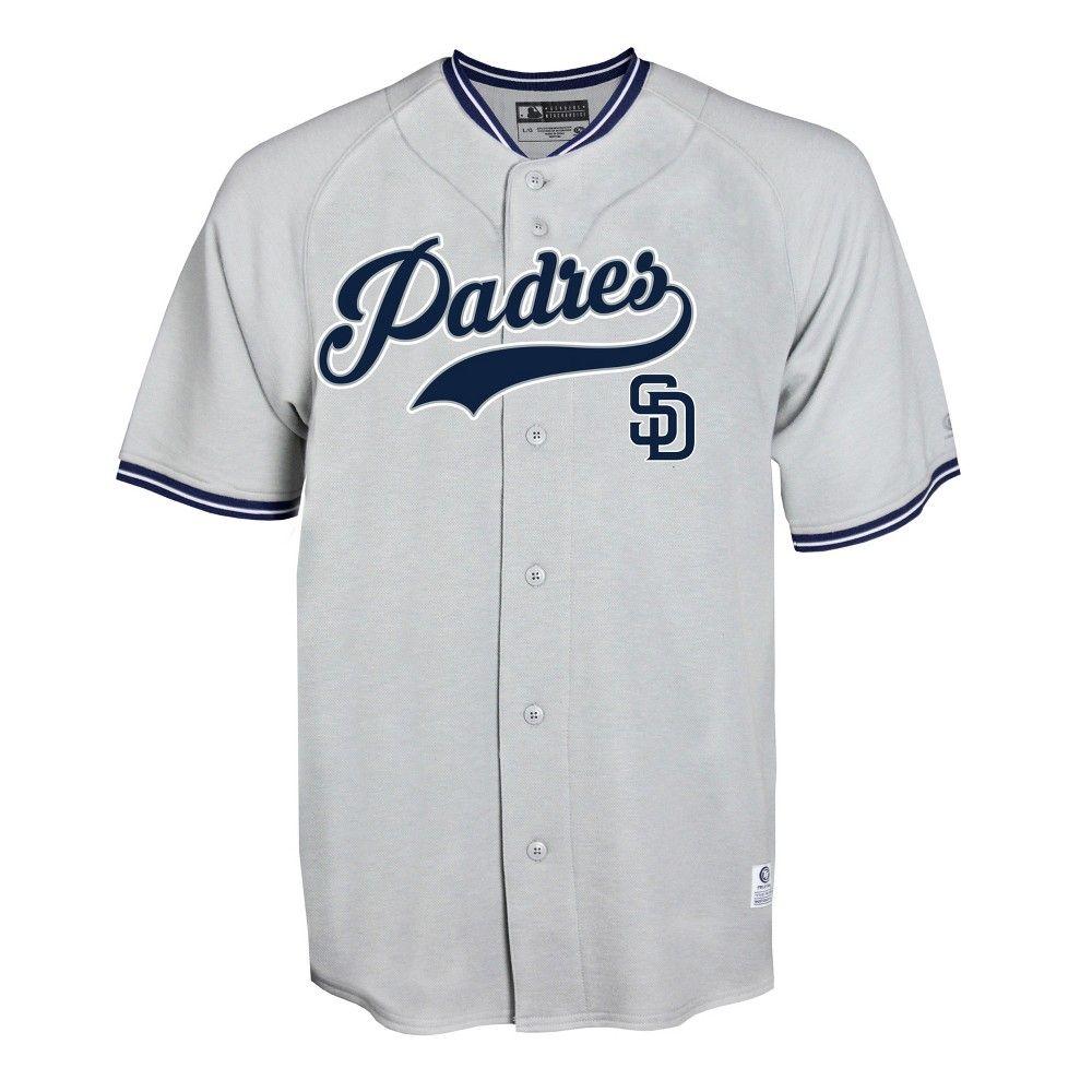 the best attitude cda3d ab113 San Diego Padres Men's Gray Retro Team Jersey - XXL in 2019 ...
