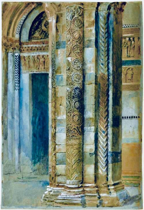 By Larue Architects: John Ruskin, Architecture Drawing, Museum Of Fine Arts