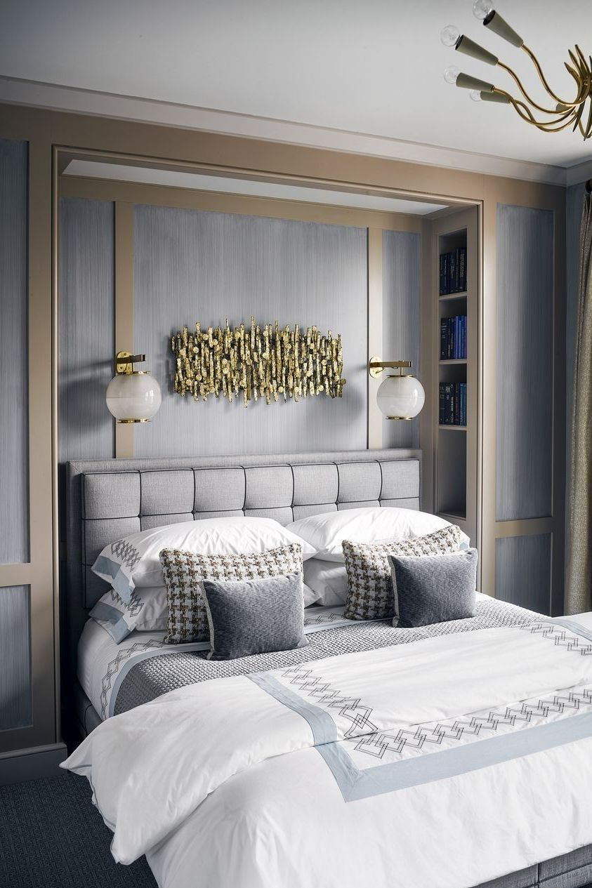 These Gorgeous Gray And White Bedrooms Are Full Of Decor Ideas Apartment Bedroom Decor Small Bedroom Designs Small Bedroom