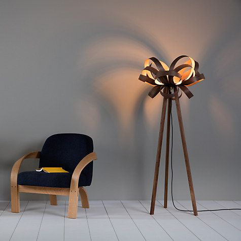 Tom Raffield Skipper Floor Lamp Oak Brass Floor Lamp Tom Raffield Floor Standing Lamps