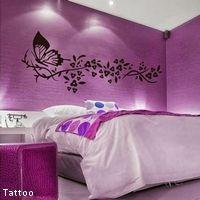 chambre-violette-tattoo   déco chanbre   Pinterest   Meilleures ...