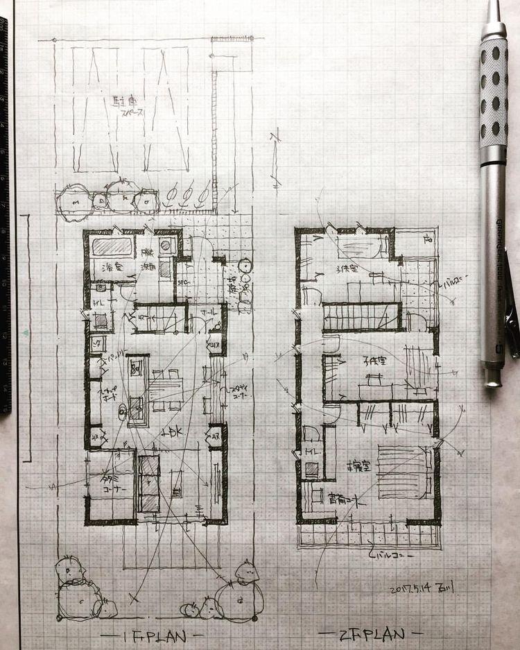 Pin De Bayquen Creative En Diseño Cr Planos De Arquitectura Diseño De Casa Planos Bocetos Arquitectura