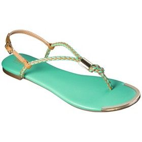 b2d88db353816 Women s Mossimo Audrey Braided Strap Sandal - Assorted Colors