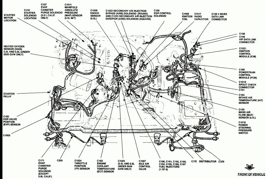 12 1995 Ford F150 Engine Wiring Diagram Engine Diagram Wiringg Net In 2020 1995 Ford F150 F150 Ford F150