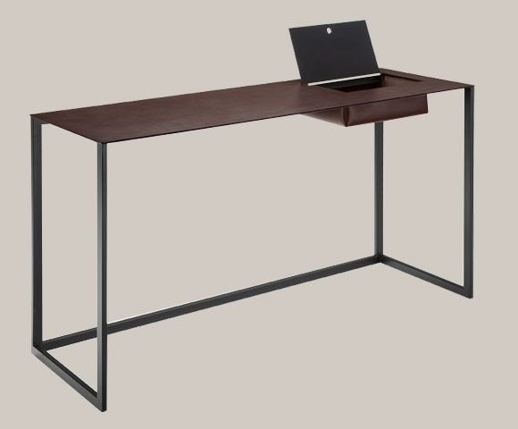 Calamo1 console bureau by calamo for zanotta meubles