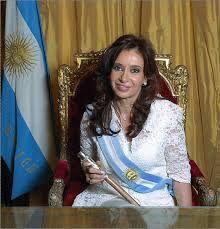 Cristina Fernandez había sido elegido por el país de Argentina.